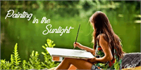 Sample image of Painting in the Sunlight font by Foundmyfont Studio Typerface LTD