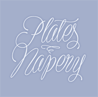 Sample image of Plates Napery Personal Use font by Måns Grebäck