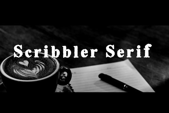 Image for Scribble Serif font
