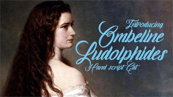 Image for Ombeline Ludolphides font