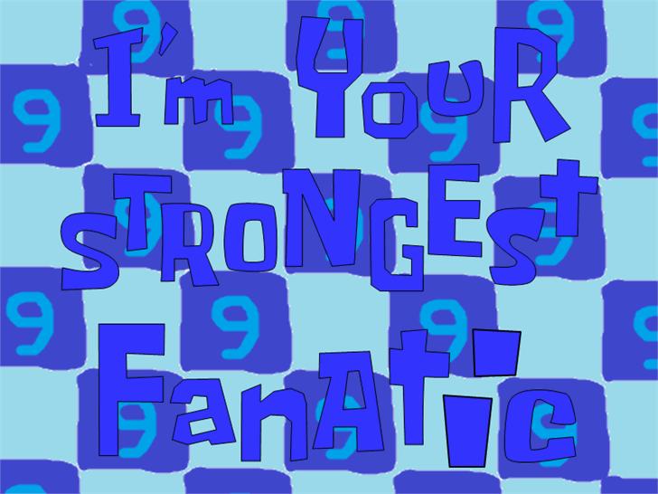 Image for Hawaiian Kids font