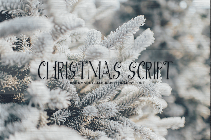 Image for Christmas Script font
