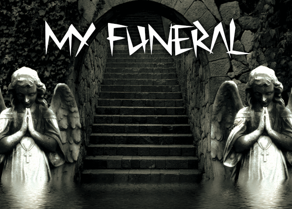 Image for My Funeral font
