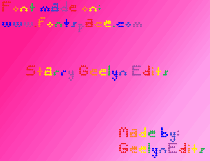 Image for Starry Geelyn Edits font