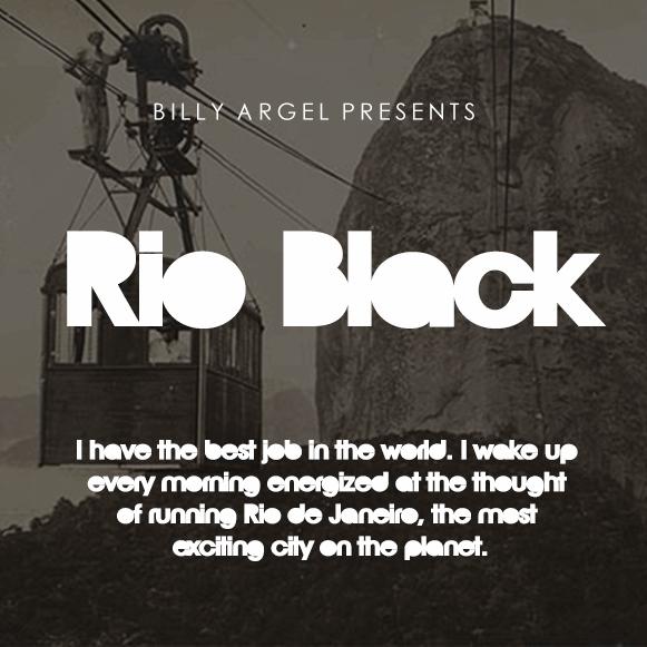 Image for Rio Black Pesonal Use font