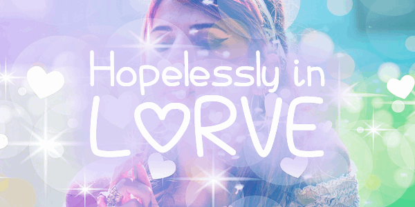 Hopelessly In Lurve font by Chequered Ink