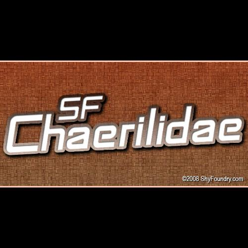 Image for SF Chaerilidae font