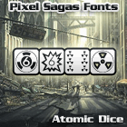 Image for Atomic Dice font