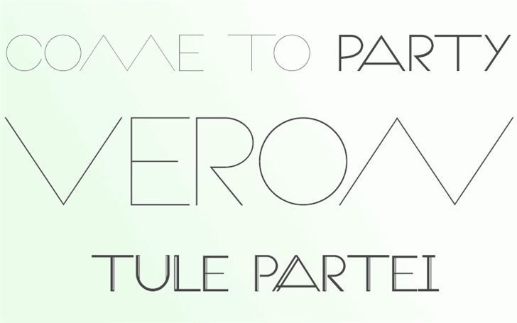 Image for Veron font