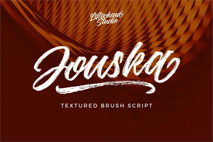Jouska Regular font by Letterhend Studio