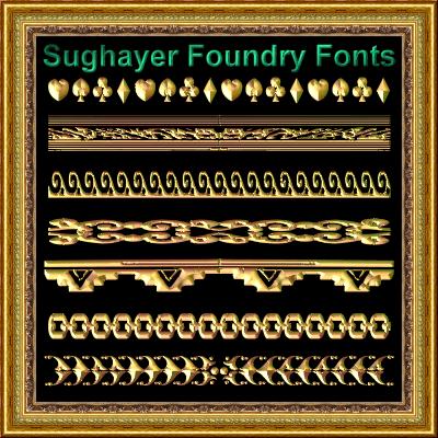 Image for Vintage Borders_020 font
