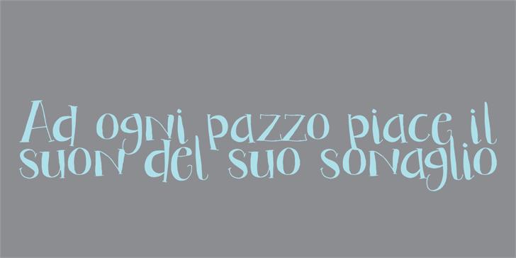 Image for DK Bandolina font