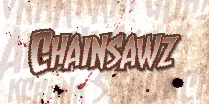 Image for Chainsawz BB font