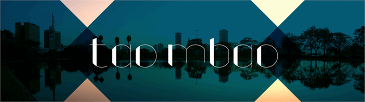 Image for TaoMbao font