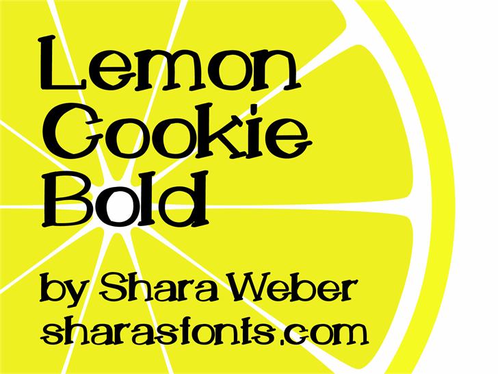 Image for LemonCookie font