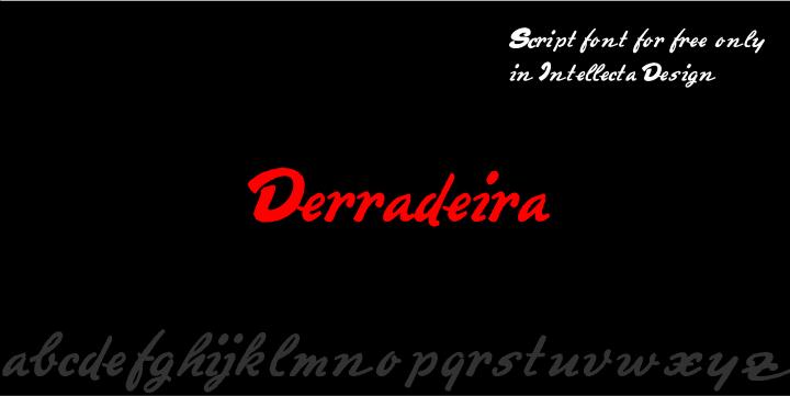 Image for Derradeira font
