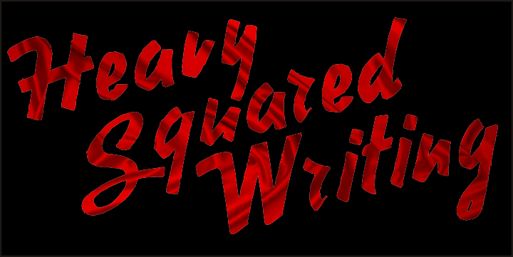 Image for Heavy Squared Writing font