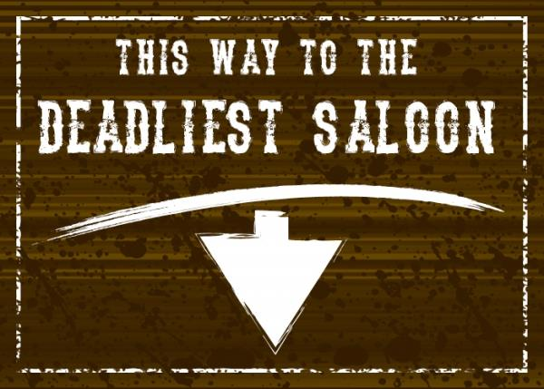 Image for The Deadliest Saloon font