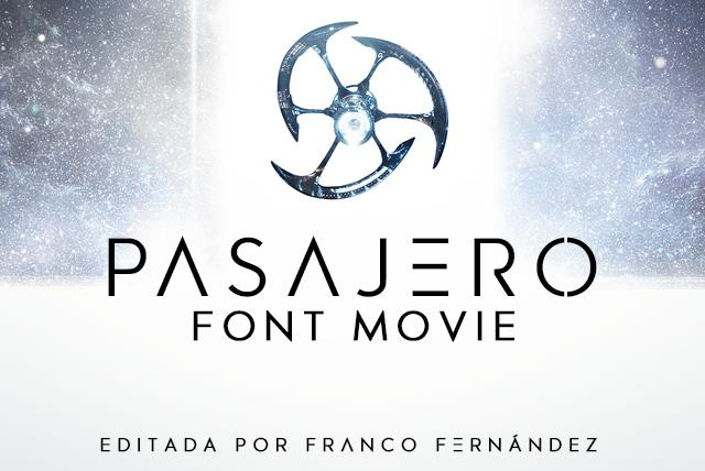 Image for Pasajero font