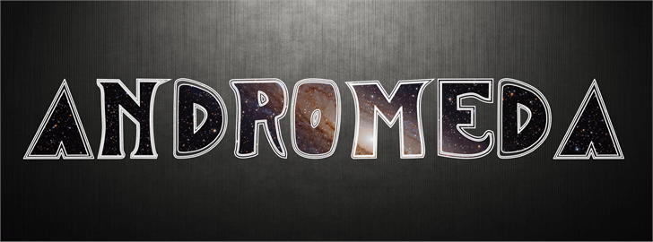 Image for ANDROMEDA font