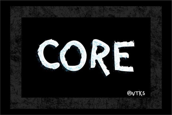 Image for VTKS CORE font
