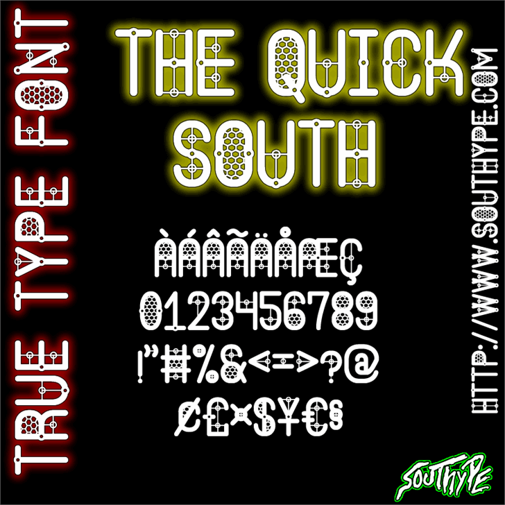 Image for The Quick South St font