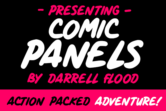 Image for Comic Panels font