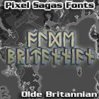 Image for Olde Britannian font