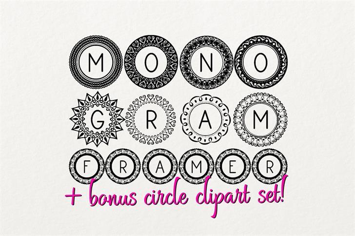 Image for Monogram Framer font