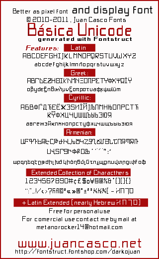 Image for BasicX font