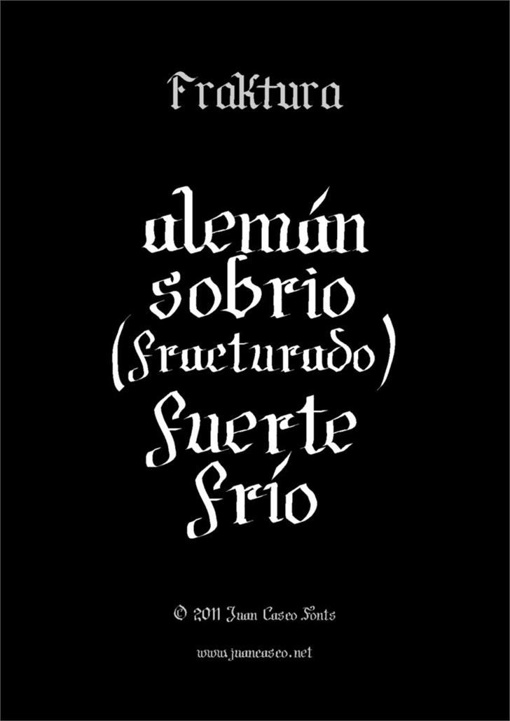 Image for Fraktura font