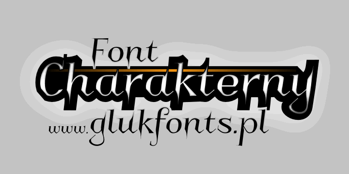 Image for Charakterny font