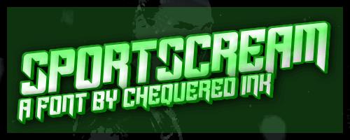 Image for Sportscream font