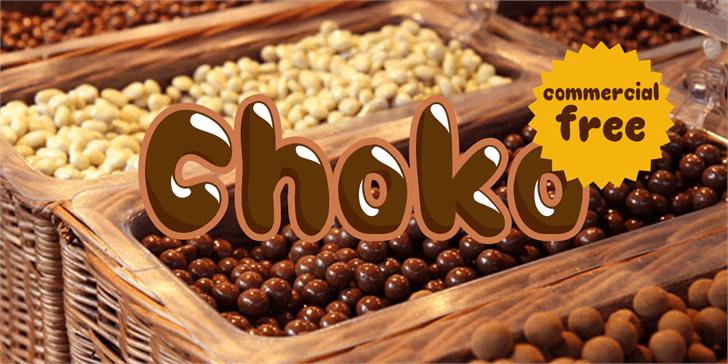 Image for Choko font
