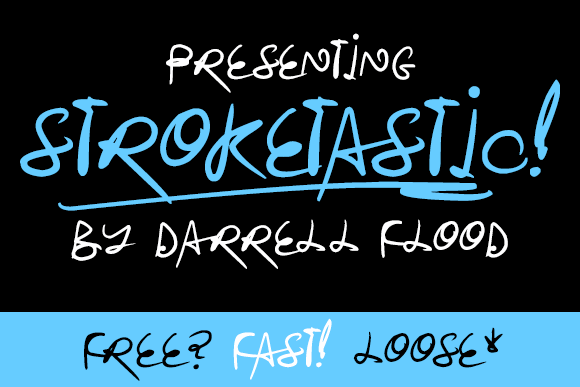 Image for Stroketastic font