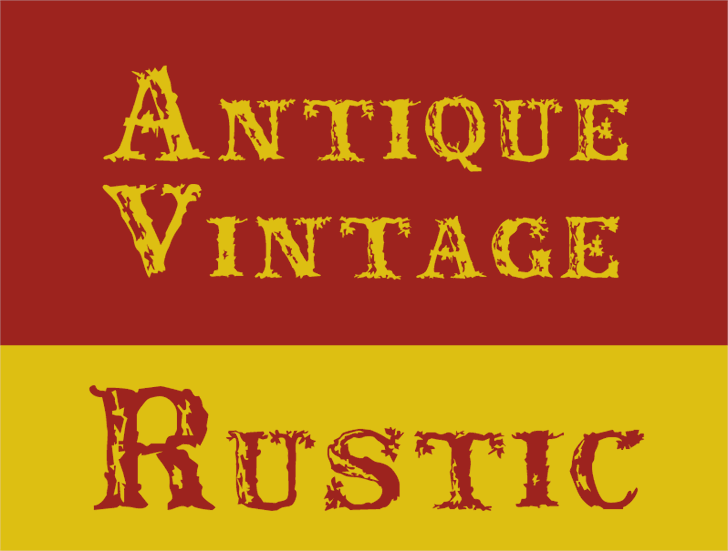 Image for Rustic font