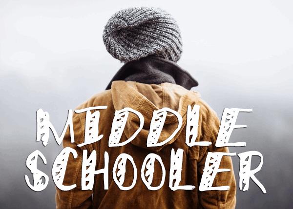 Image for Middle Schooler font