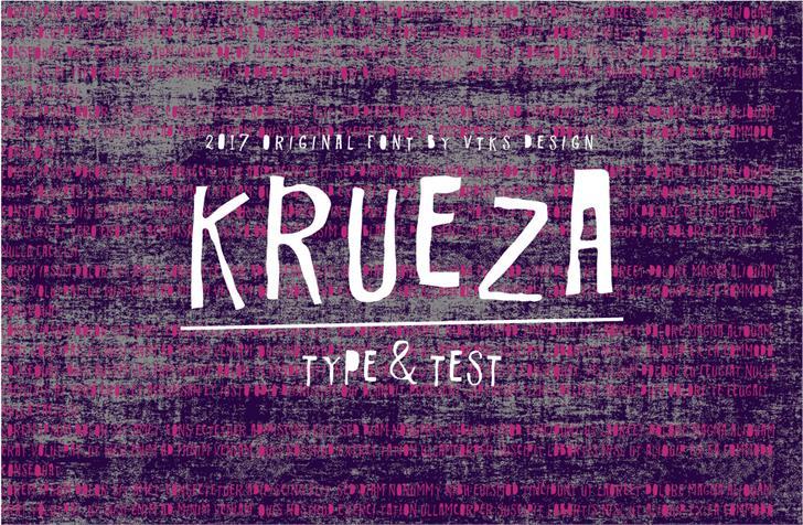 Image for Vtks Krueza font