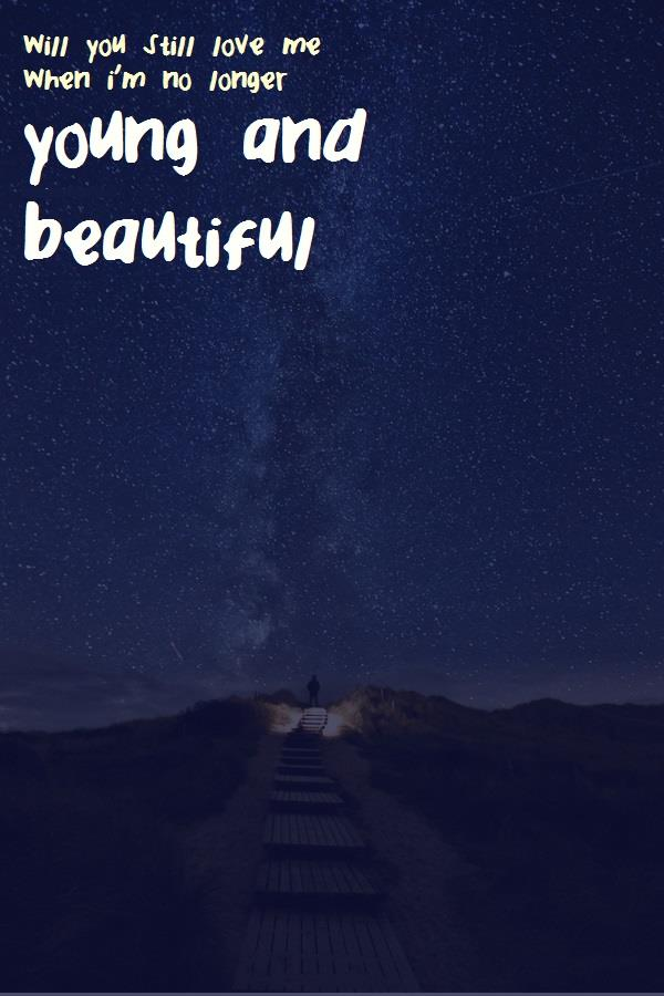Image for YoungandBeautiful font