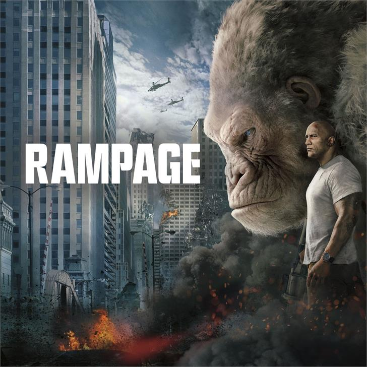 Image for Rampage font