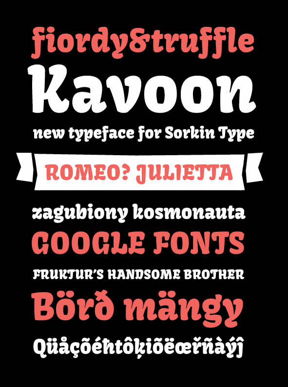 Image for Kavoon font