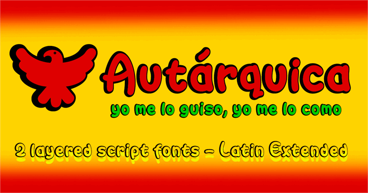 Image for Autarquica font