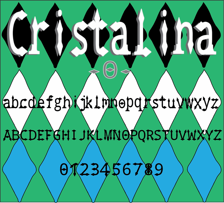 Image for Cristalina font