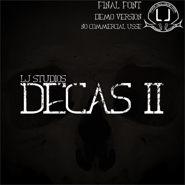 Image for Decas II font
