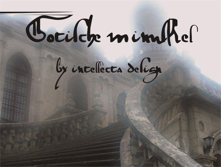 gotische font by Intellecta Design