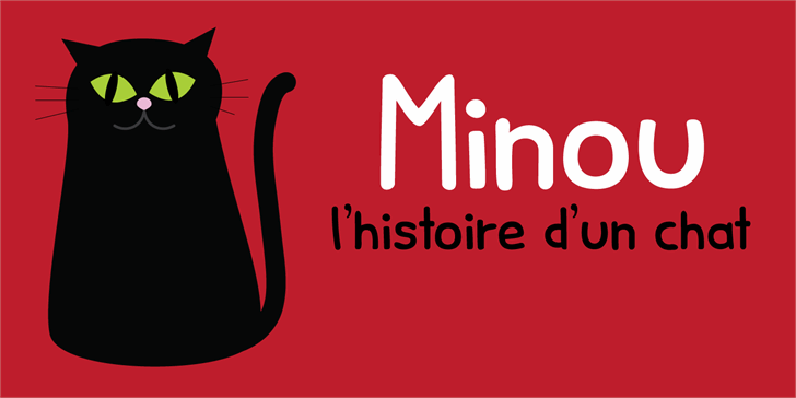 Minou DEMO font by David Kerkhoff