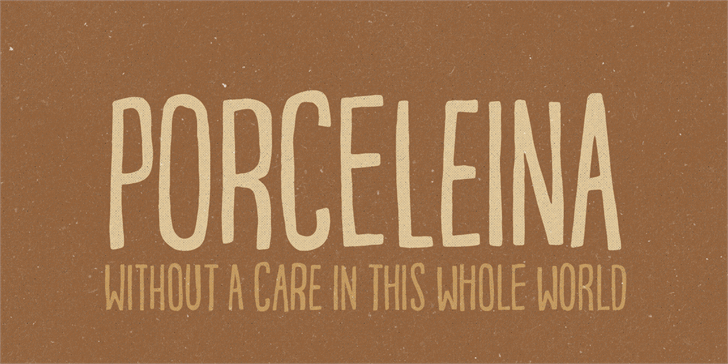 Image for Porceleina DEMO font