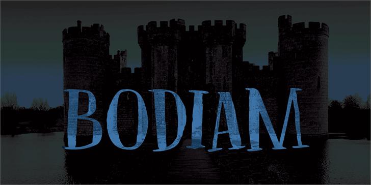 Image for DK Bodiam font