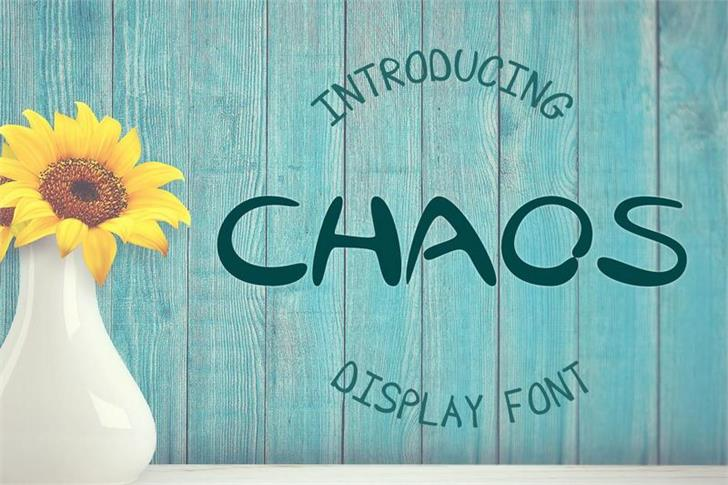 EP Chaos font by Emily Penley Fonts