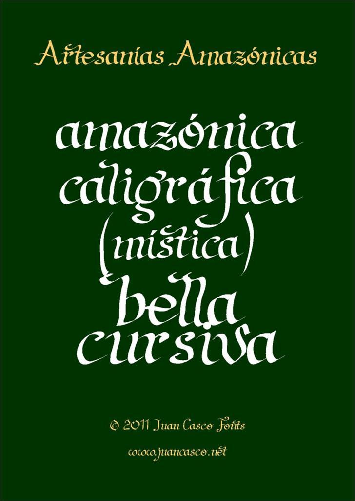 Image for Artesanias font